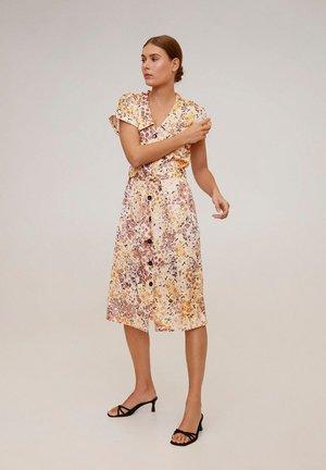 TULIPA-H - Day dress - brown