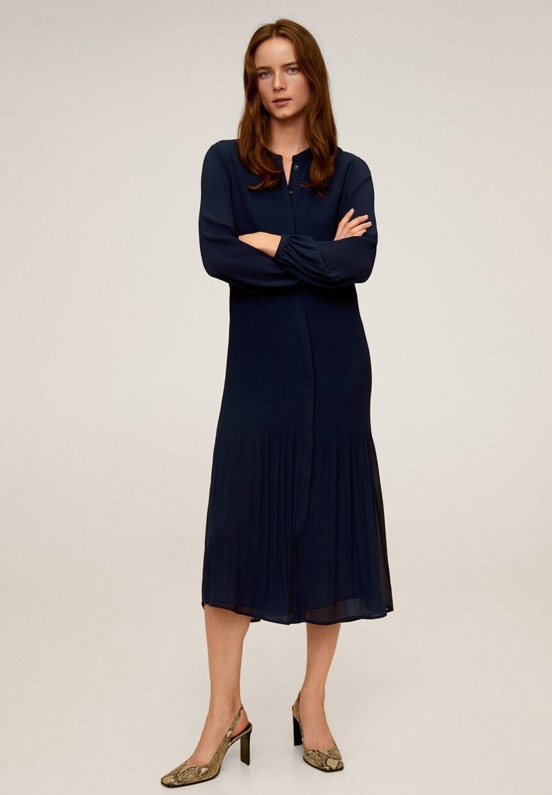 Mango - FRESA - Sukienka letnia - dark navy blue