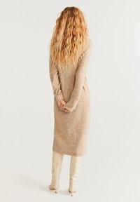 Mango - SOUL - Strikket kjole - medium brown - 2