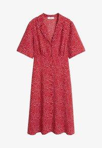 Mango - GRECO-H - Robe chemise - red - 3