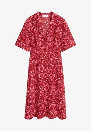 GRECO-H - Sukienka koszulowa - red