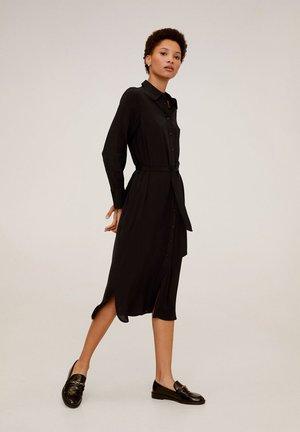 MARX - Robe chemise - black