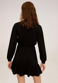 Mango - MOSS - Korte jurk - black - 2