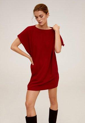 IVO - Korte jurk - bordeaux