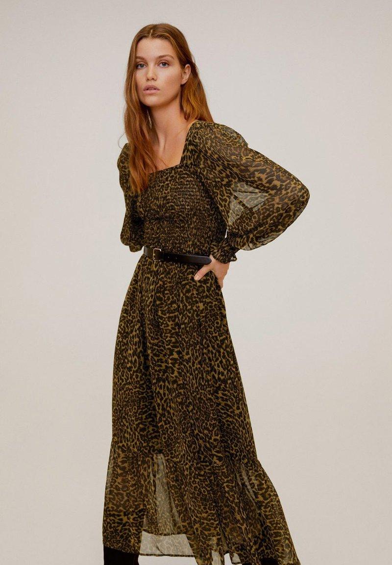 Mango - LYON - Sukienka letnia - brown
