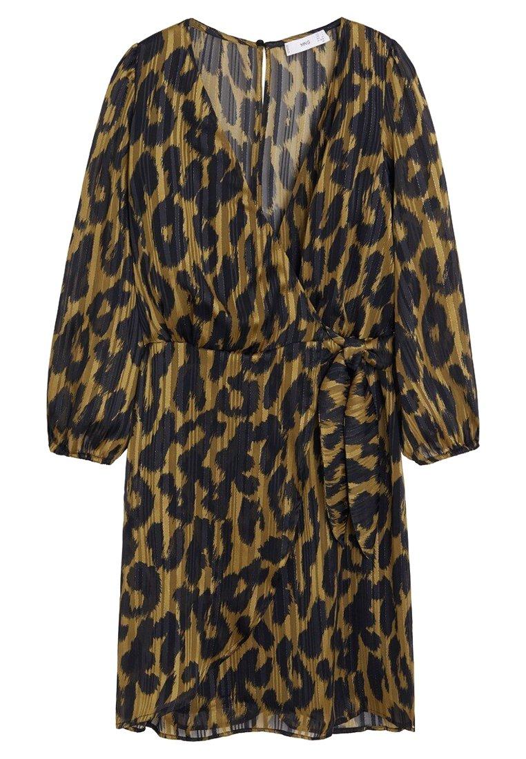 Mango WILD - Sukienka letnia - brown