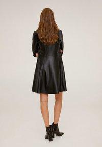Mango - SKIN - Shirt dress - black - 2