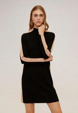 OLIMPIA - Jumper dress - black