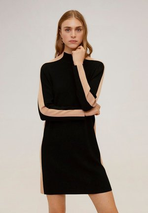 OLIMPIA - Sukienka dzianinowa - black