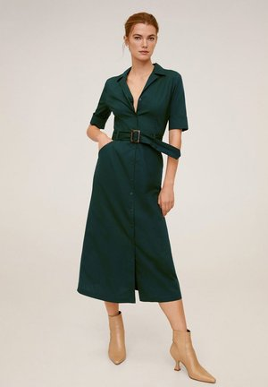 MEXI - Sukienka koszulowa - Smaragdgrün