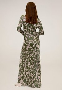 Mango - FLOWER - Maxi dress - green - 1