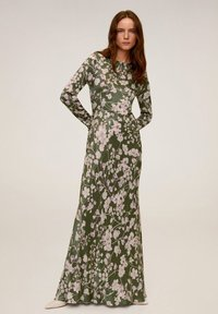 Mango - FLOWER - Maxi dress - green - 0