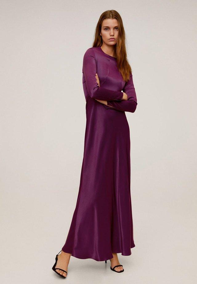 TENE - Vestito lungo - lila