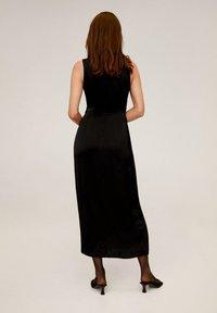Mango - LAZO  - Długa sukienka - black - 1