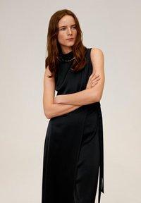 Mango - LAZO  - Długa sukienka - black - 2