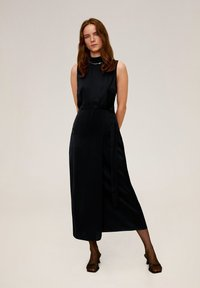 Mango - LAZO  - Długa sukienka - black - 0