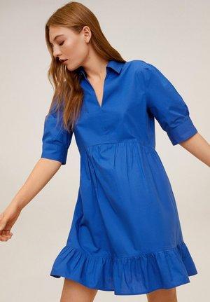 LUCHA - Korte jurk - blau