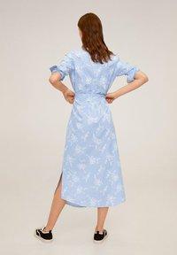 Mango - RAMON - Korte jurk - porzellanblau - 2