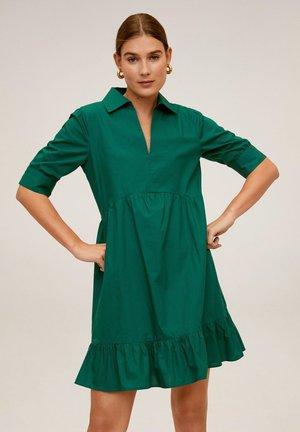 LUCHA - Korte jurk - donkergroen
