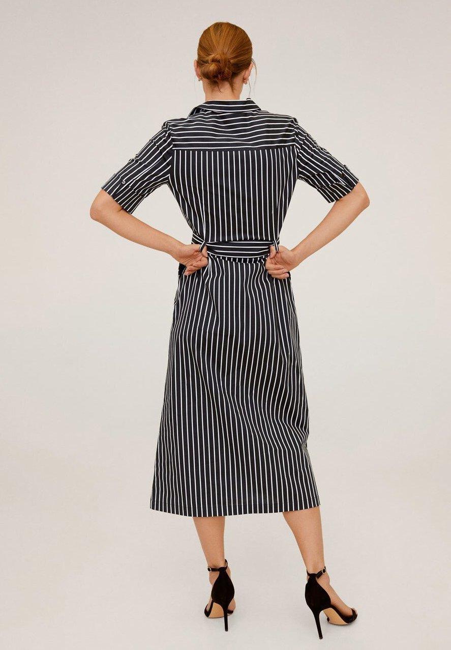 Mango MEXIPL - Sukienka koszulowa - marineblau