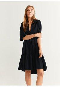 Mango - HOLIDAY-X - Korte jurk - zwart - 0