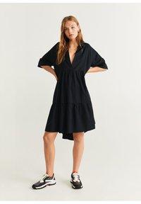 Mango - HOLIDAY-X - Korte jurk - zwart - 1