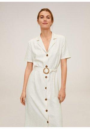 LOREN - Skjortklänning - beige