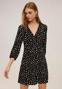 Mango - BICHIN - Day dress - schwarz - 0