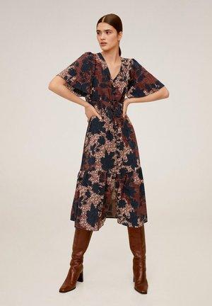 FLORI - Sukienka letnia - mittelbraun