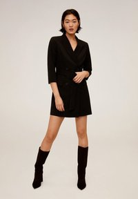 Mango - BLAKE - Shift dress - nero - 1