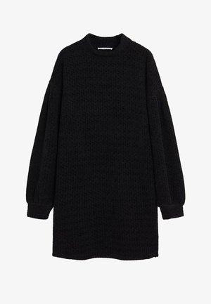 CHENIVES - Robe pull - schwarz