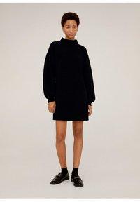 Mango - CHENIVES - Jumper dress - schwarz - 1