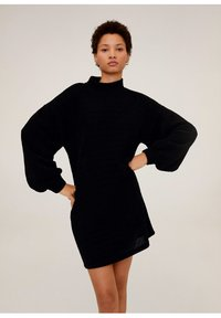 Mango - CHENIVES - Jumper dress - schwarz - 0