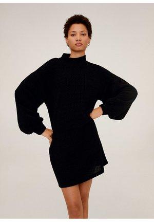 CHENIVES - Jumper dress - schwarz