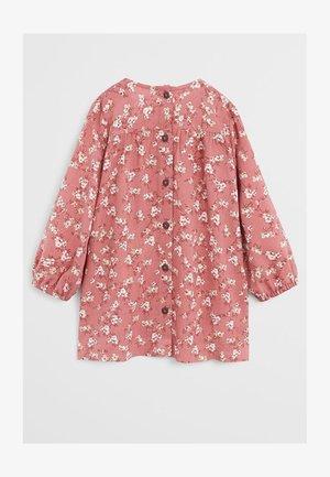 KLEID MIT BLUMENDRUCK - Day dress - geranienrosa