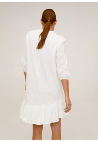 Mango - LACROSSE - Korte jurk - weiß - 2