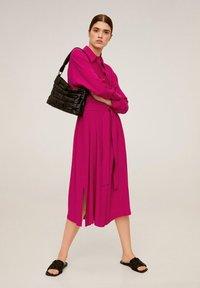 Mango - HEMDKLEID MIT TASCHEN - Robe chemise - fuchsia - 1