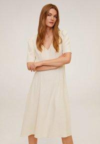 Mango - SOPHIE - Korte jurk - beige - 0