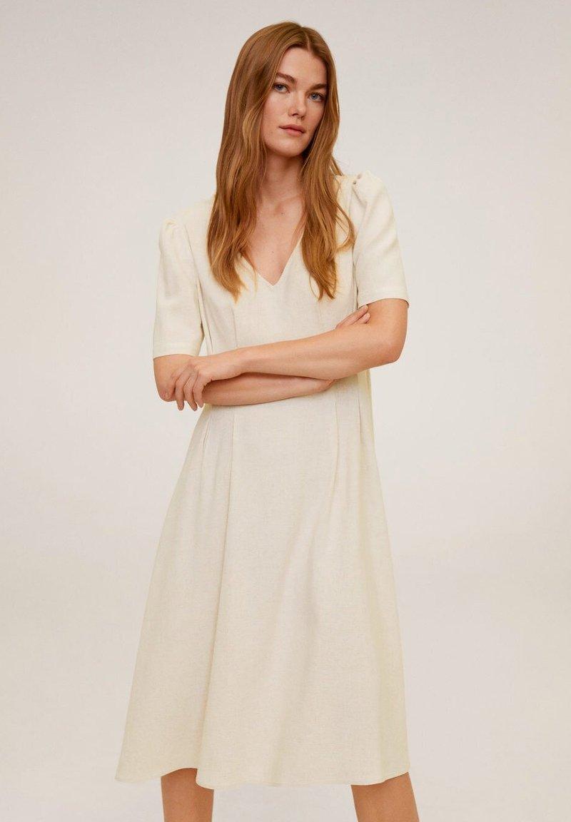 Mango - SOPHIE - Korte jurk - beige