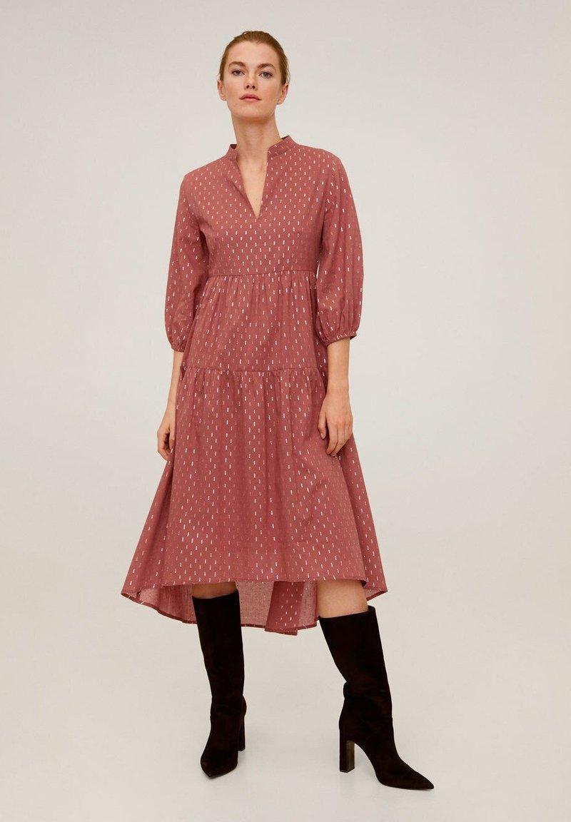 Mango - ALMU - Sukienka letnia - rotbraun