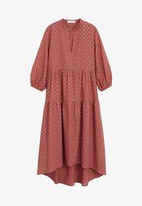 Mango - ALMU - Sukienka letnia - rotbraun - 3