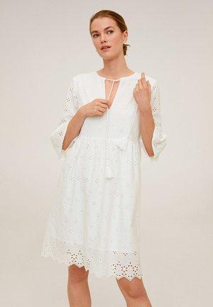 DRESSI - Korte jurk - weiß