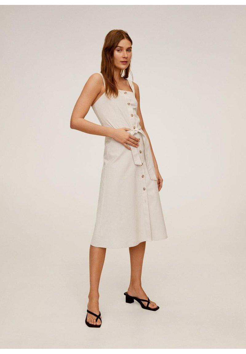Mango - ANAFI - Korte jurk - beige