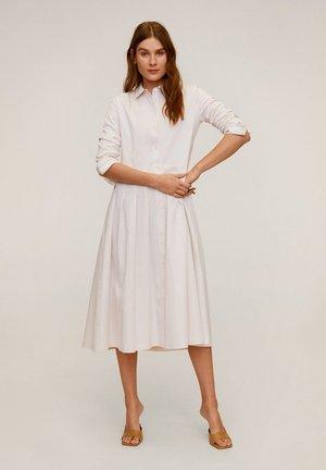 MARIA - Robe chemise - ecru
