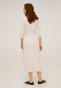 Mango - ZENIS - Gebreide jurk - beige - 1
