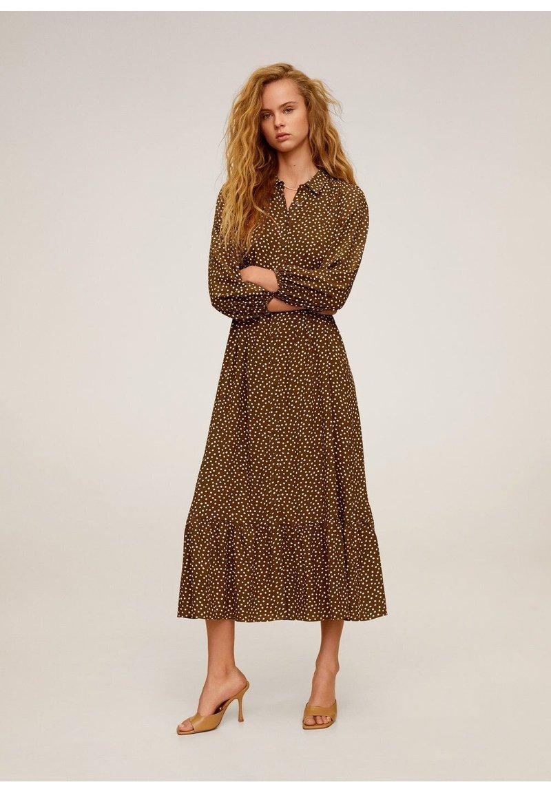 Mango - APPLE - Długa sukienka - braun