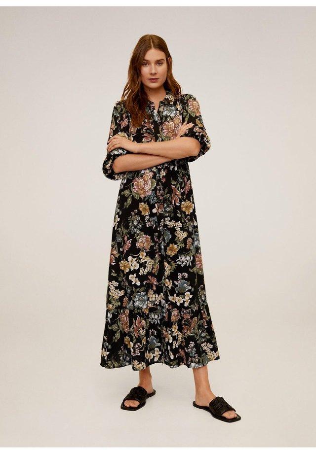 APPLE - Maxi-jurk - schwarz