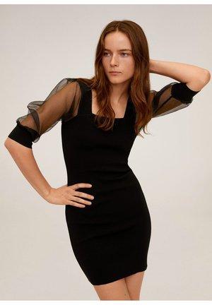 VIENA - Etui-jurk - schwarz