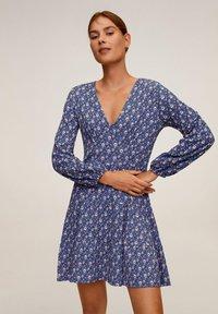 Mango - LOLO - Day dress - blauw - 0