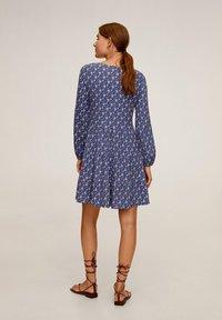 Mango - LOLO - Day dress - blauw - 2